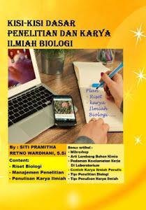 Kisi-kisi dasar penelitian dan karya ilmiah biologi